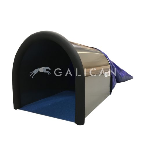 INTERCAN chute tunnel aluminum and rubber