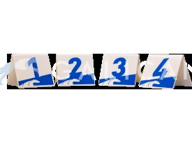 Juego de números PVC