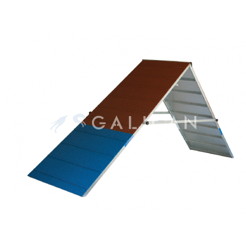 BASE aframe galvanized steel and rubber