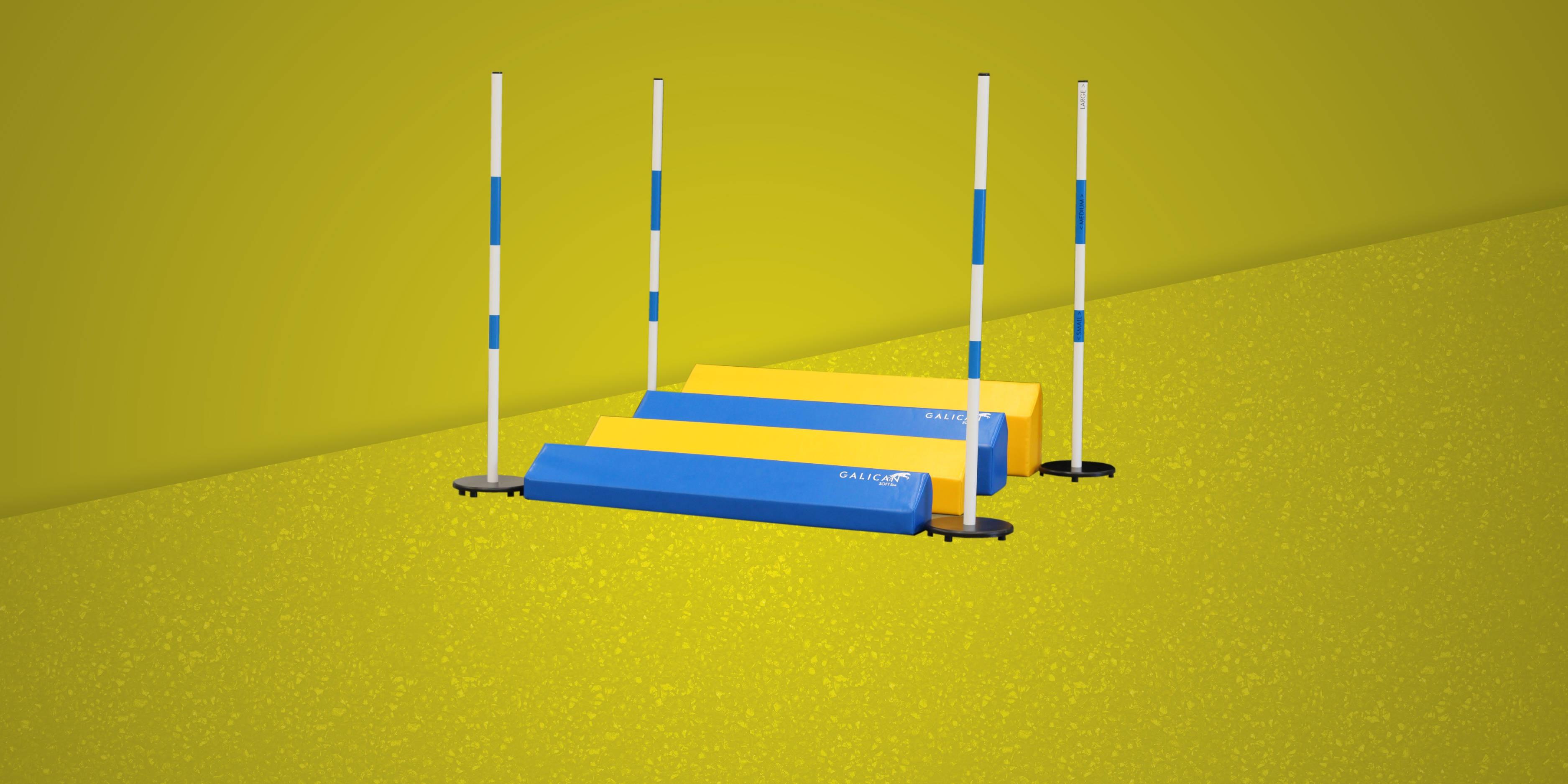 Soft long jump